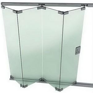 pintu kaca folding